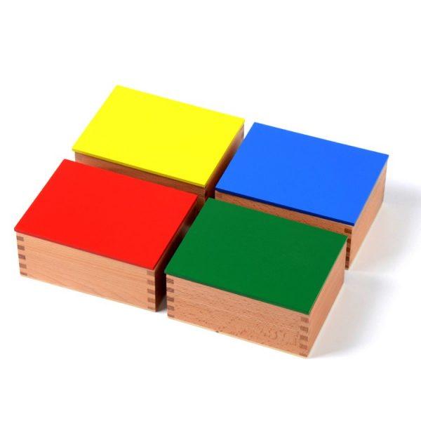 boite des 10 cylindres de 4 couleurs