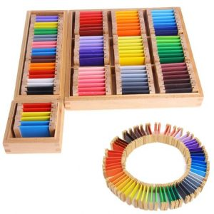 Montessori Color Tablet Boxes