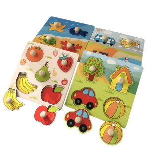 Mon Premier Puzzle : Puzzle des Fruits/Transports/Animaux
