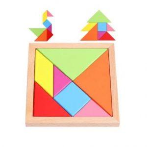 Puzzle Tangram en Bois Montessori