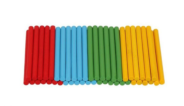 Boîte Arithmétique avec Bâtons en Bois Montessori