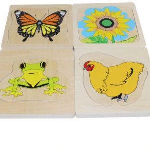 Puzzle Évolutif 3D Insecte/Animal/plante