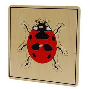 Puzzle Insectes en Bois
