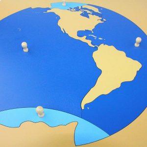 Puzzle Planisphère des Océans