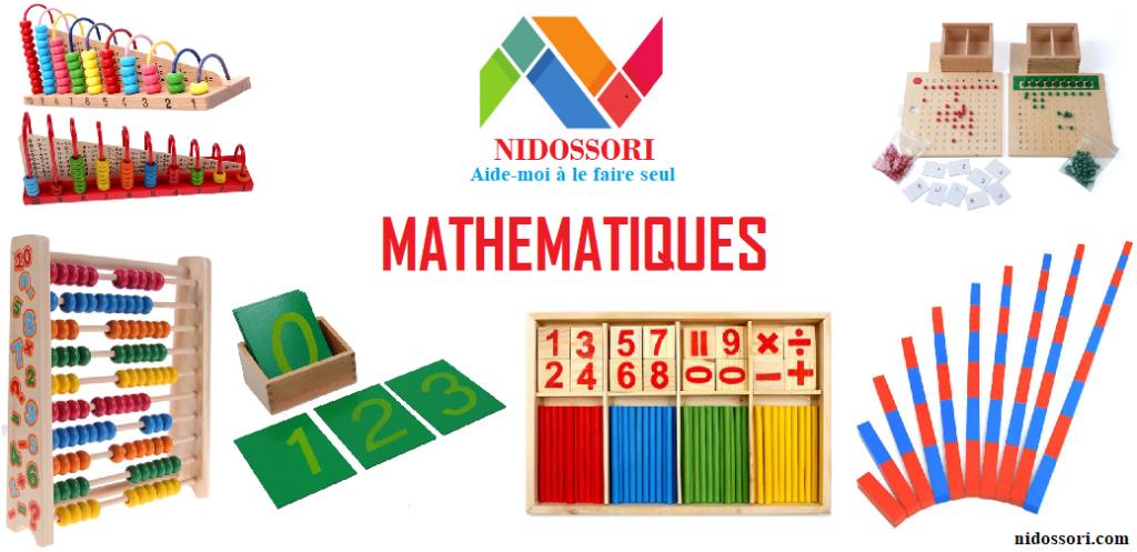 Matériels éducatifs en bois Mathématiques Montessori