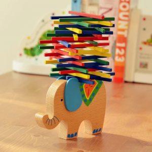 GRATUIT Éléphant et Chameau Équilibrage de Blocs