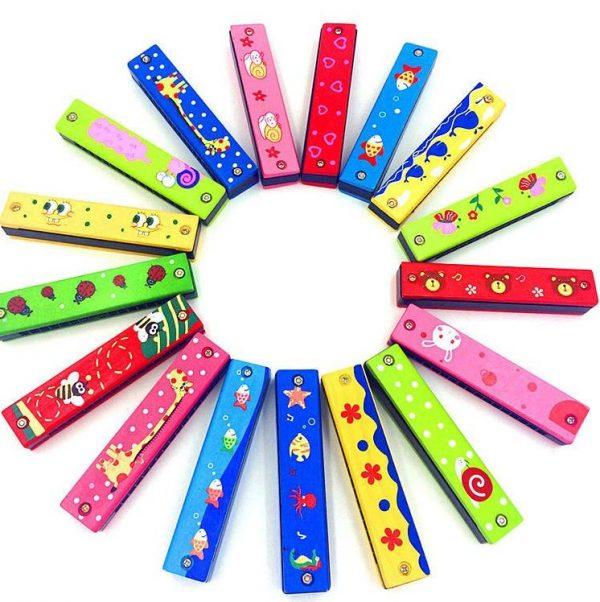 harmonica multicolore