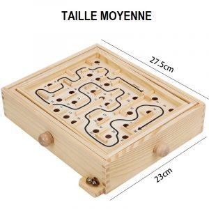jeux de labyrinthe en bois