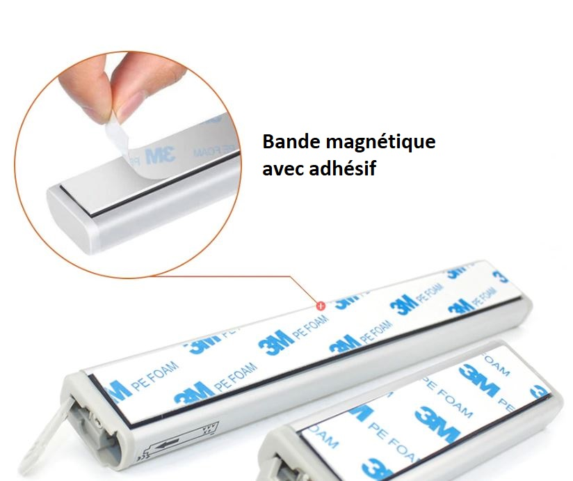 lampe LED avec détecteur de mouvement