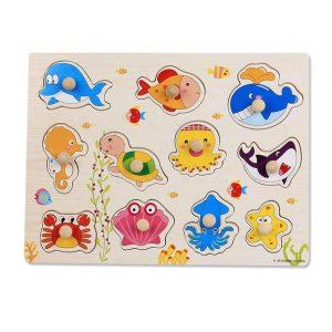 puzzle animaux aquatiques