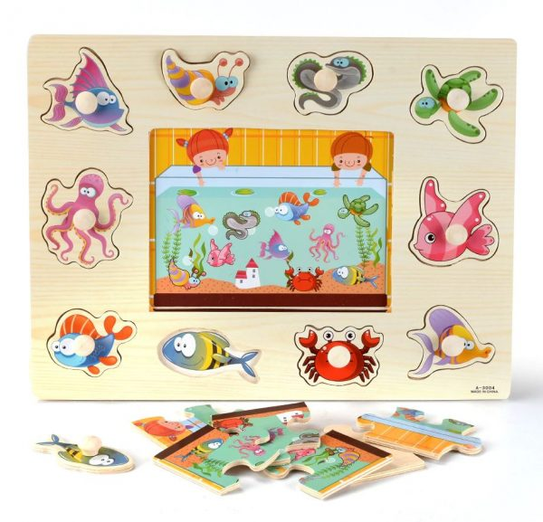 puzzle animaux marins