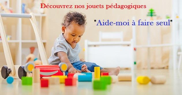 jouet éducatif Montessori