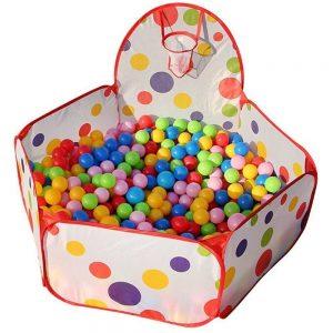 100 à 200 Balles Multi-couleurs et Piscine à Balles