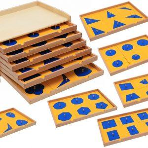 Cabinet de géométrie en Bois
