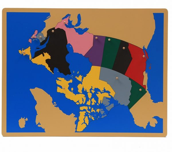 Carte de Canada