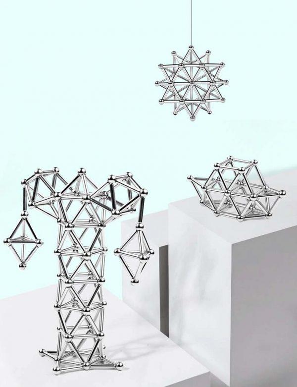 jouet de bloc de construction magnétique