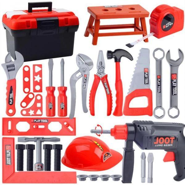 Kit de boîte à outils pour enfants