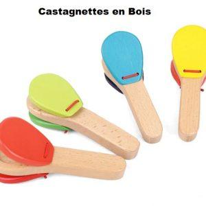 castagnettes en bois