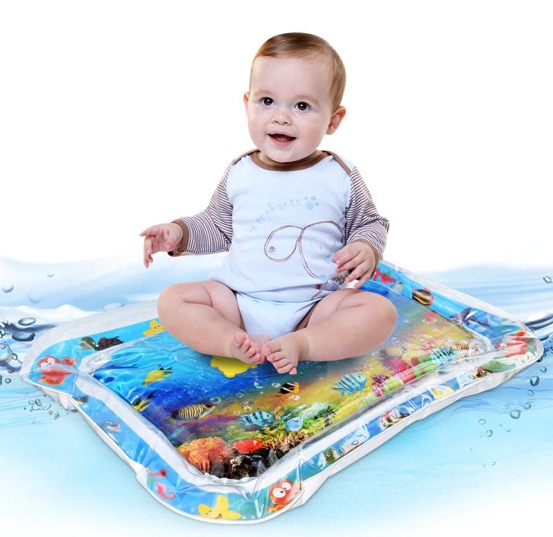 tapis d'eau gonflable pour bebe