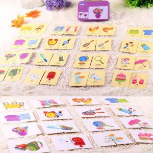 Puzzles de Cognition avec des Cartes