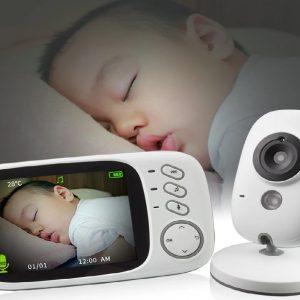 Babyphone: Moniteur d'écoute Bébé sans fil