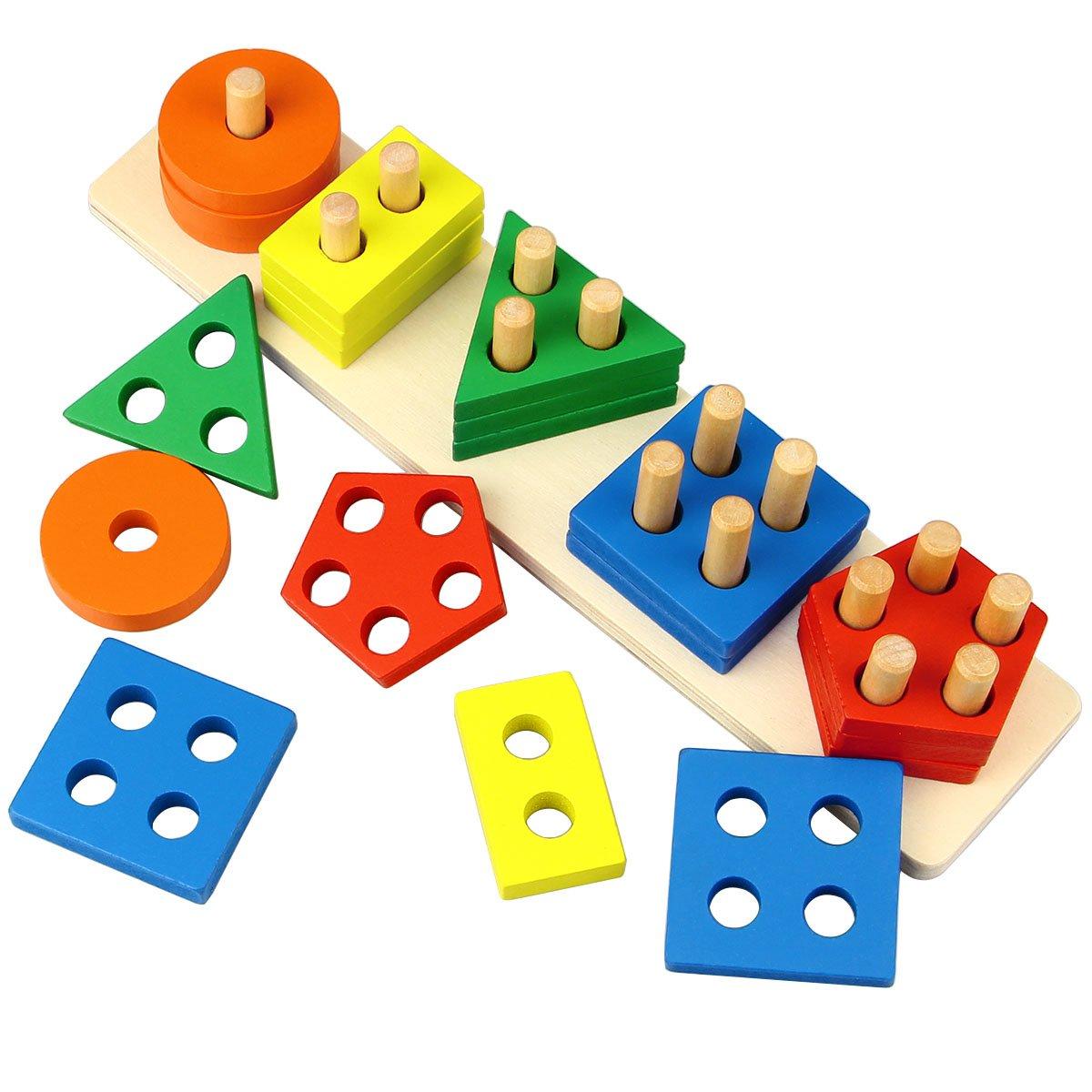 Empileur de formes géométriques