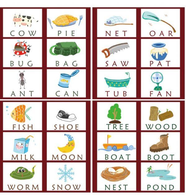 Jeu de l'alphabet anglais