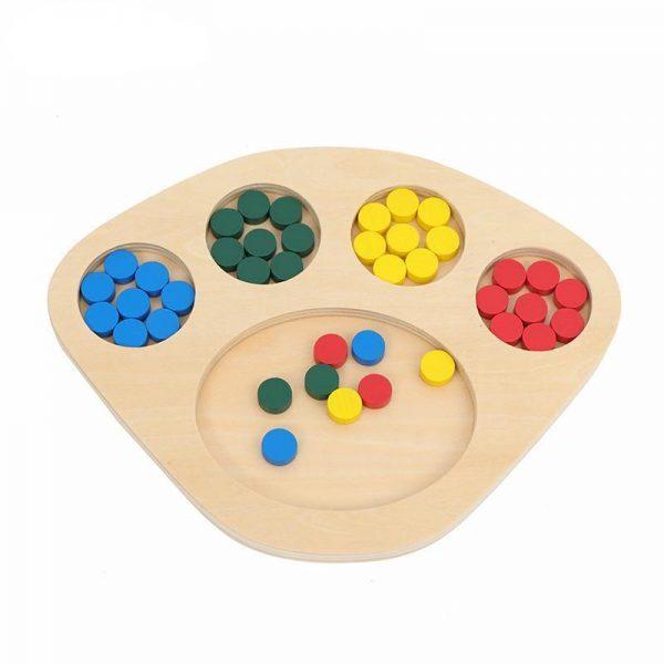 triage des couleurs Montessori