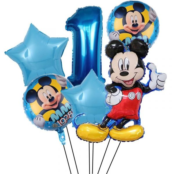 decoration ballon mickey pour anniversaire