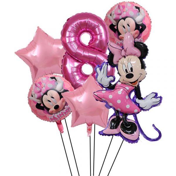 decoration ballon minnie pour anniversaire