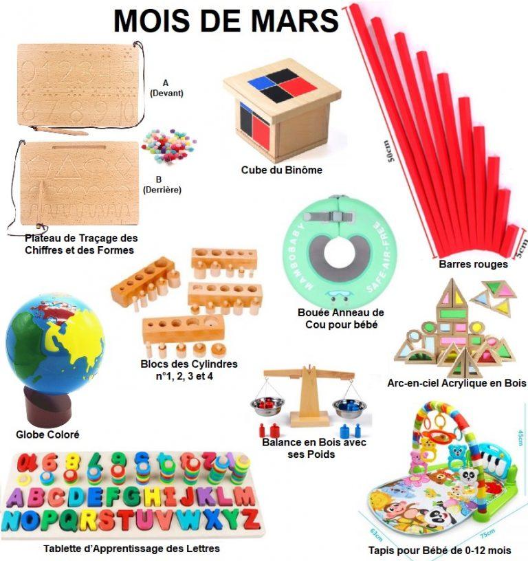 abonnements mois de Mars