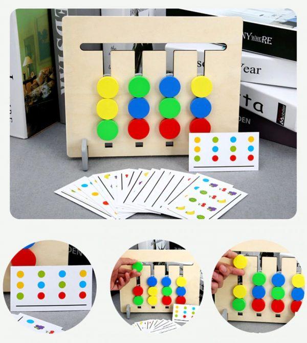 jouets d'apprentissage de la pensée logique pour enfants