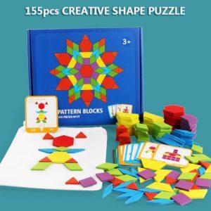 Puzzle Éducatif 3D en Bois